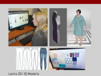 Photograph collage of the CAD lab 2.